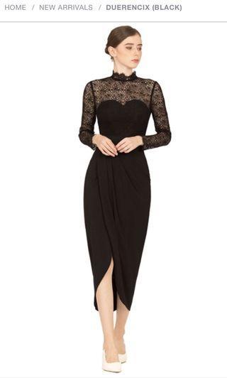 Doublewoot xs black dress