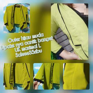Outer warna hijau fit to L