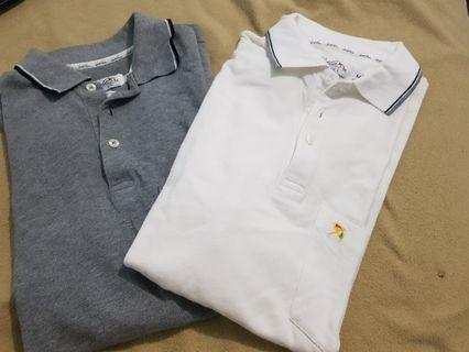 GET 2 Polo Shirt arnold palmer 100% authentic real cotton