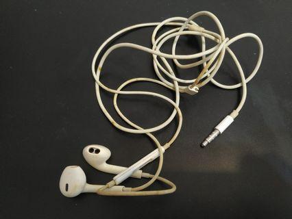 Apple earpiece earphone