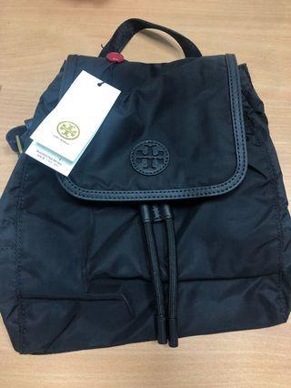 100%new 全新 Tory Burch scout nylon small backpack 尼龍背囊 black 黑
