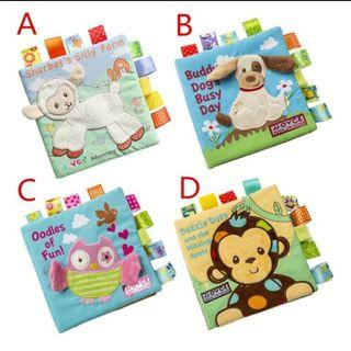 Cognitive Baby Cloth Book
