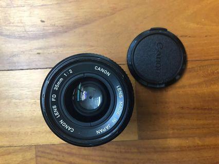 Canon FD 35mm f2