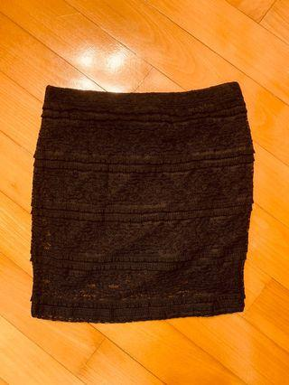 Forever 21 lace mini skirt 厘士迷你裙