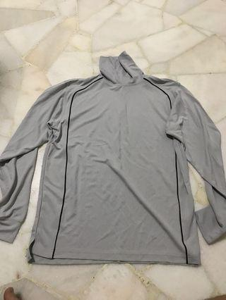 Grey turtleneck longsleeve shirt