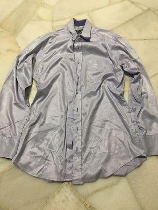 Slimfit large longsleeve shirt
