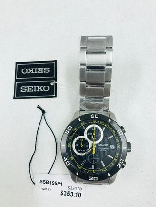 Selling a brand new seiko quartz model SSB195P1