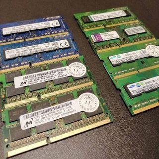 筆電用DDR3/1600/4G 記憶體一批