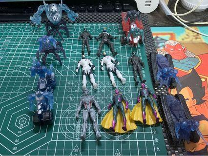 Marvel legend 2.5寸。各8蚊隻 買3送1。 全要80 復仇者聯盟 not SHF not mafex not hasbro not hottoys