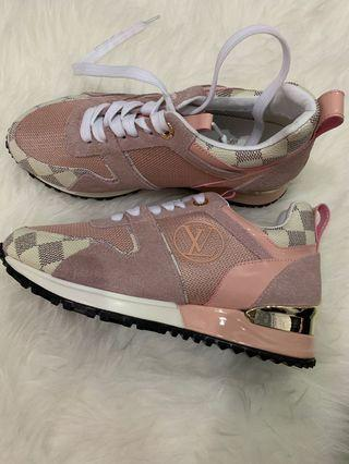 LV SHOES Pink (mirror)