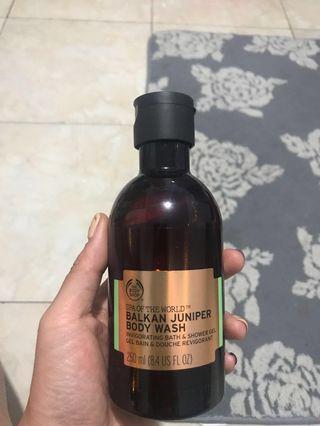 The Body Shop Balkan Juniper Body Wash 250ml