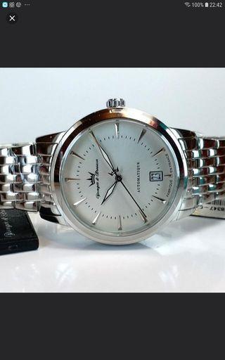 YONGER & BRESSON 法國雍加畢索 MADE IN FRANCE 法國制造 AUTOMATIC 自動錶 40mm,新錶,保証未戴過,有牌仔。不議價。