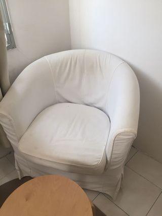 Ikea Tullsta Arm Chair Cover & Chair.