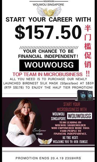 🚚 Wouwou Distributor Promotion!