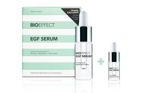 BIOEFFECT EGF Serum Travel Exclusive 15ml + 5ml 蓓歐菲 益肌煥顏修護精華露旅行套裝