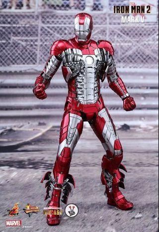 LF Hot Toys Iron Man Diecast Mark 5,V