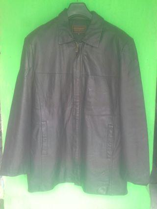 Jaket kulit asli model formal GIONARD ori ya