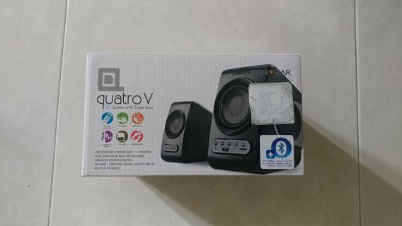 Brand New Sonic Gear Quatro V 2.1 System with Super Bass