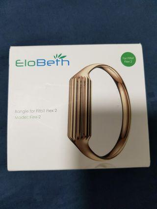 EloBetn Bangle for Fitbit Flex2 GOLD COLOURS