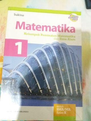 Buku matematika peminatan SMA