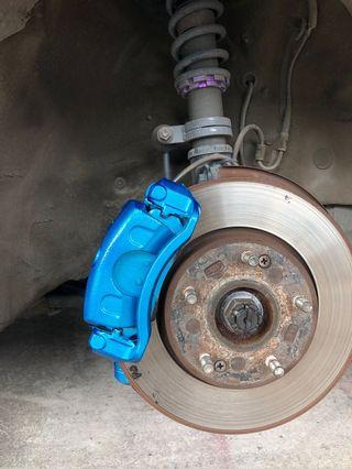 Spraying rims and calipers promo extension