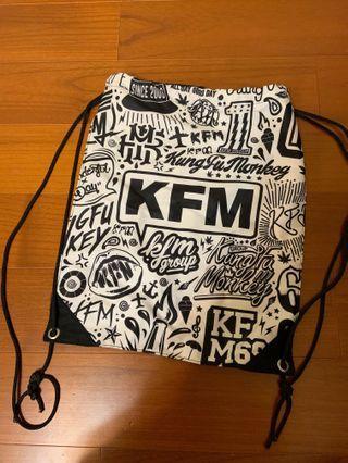 🚚 Kfm束口袋後背包
