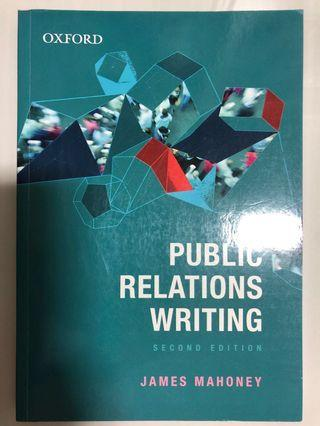 🚚 Public Relations Writing