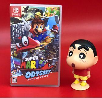 (二手遊戲)⚠️Switch Super Mario Odyssey⚠️ (中文版)