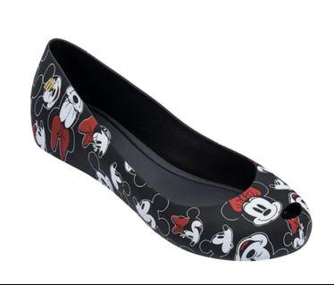Melissa Ultragirl Mickey Black 💯Authentic US6, 7 and 8 $75