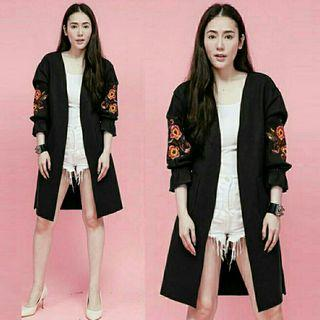 OUTER LONGCARDY ROSELINE (HITAM)