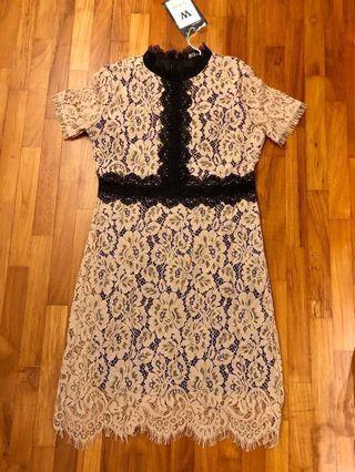 Versailles French Lace Dress Premium