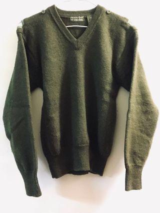 Scout Dark Green Pullover