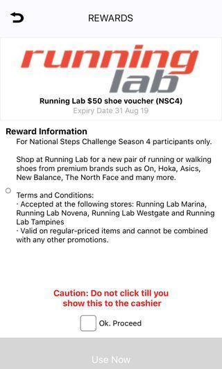 Running lab $50 voucher