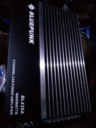 Car Amplifier Bluepunk 4channel 6000watts ab..bunyi kaw2