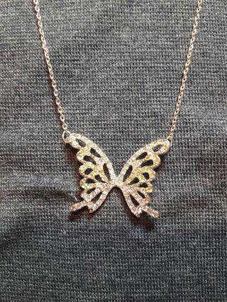 🚚 蝴蝶飛碎鑽項鍊
