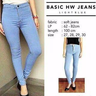 Basic HW Jeans
