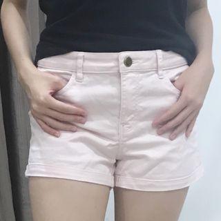 H&M pastel pink shorts girls woman teenager pants jeans