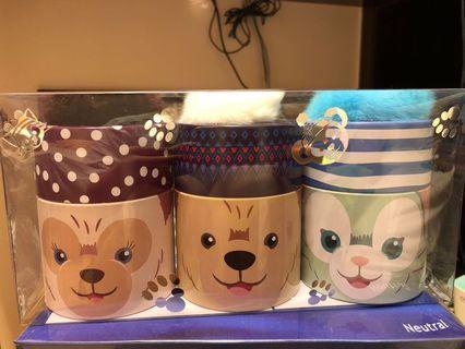 Disney Duffy 置物罐 1 set 3 個