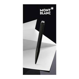 Montblanc StarWalker Ultra Black Ballpoint Pen 萬寶龍 星際行者系列勁黑原子筆