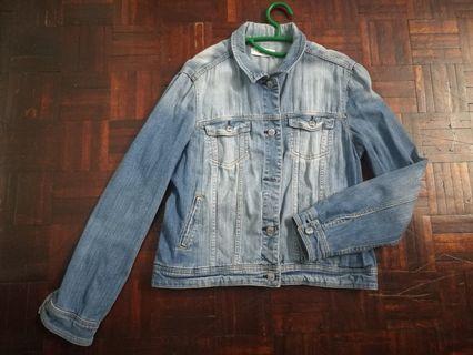 Mango Denim Oversize Jacket