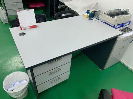 Office Study Desk/Table with Drawers