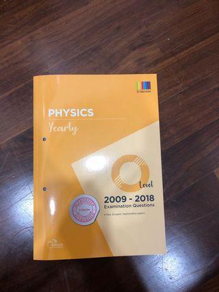 🚚 Pure Physics O Level TYS 2009-2018