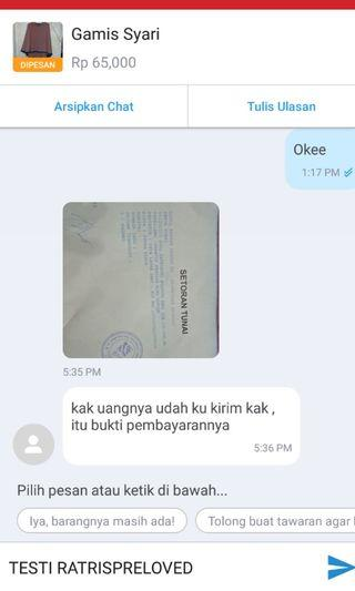 Testimoni RatrisPreloved😙