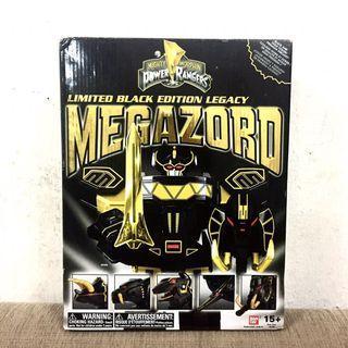 Bandai Mighty Morphin Power Ranger Limited Black Edition Legacy Megazord