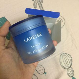 Laneige Water Sleeping Mask & Laneige Cream Skin Refiner