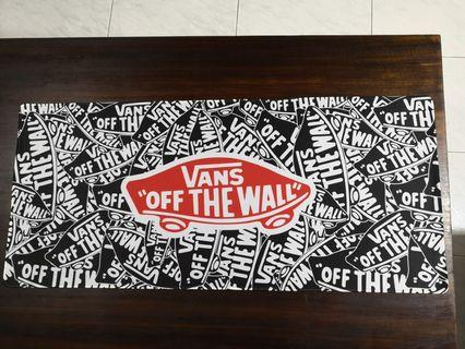 900x400x3mm XL Gaming Mousepad - Vans Off the Wall [in-stock]