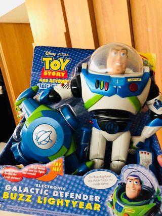 🚚 Toy story 玩具總動員 絕版 稀有 藍色 巴斯光年