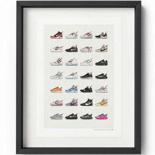 NIKE X OFF-WHITE COLLECTION - A3 POSTER