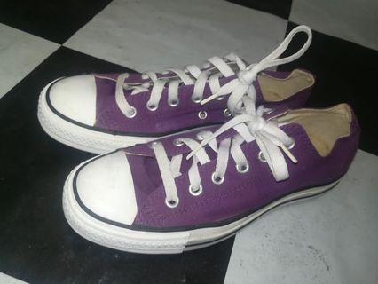 ff9b23e19f85 Converse purple lowcut