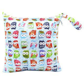 【YYB 01】L Size Wet or Dry Bag / Baby Diaper Wetbag / Clothes Travel Storage Bag